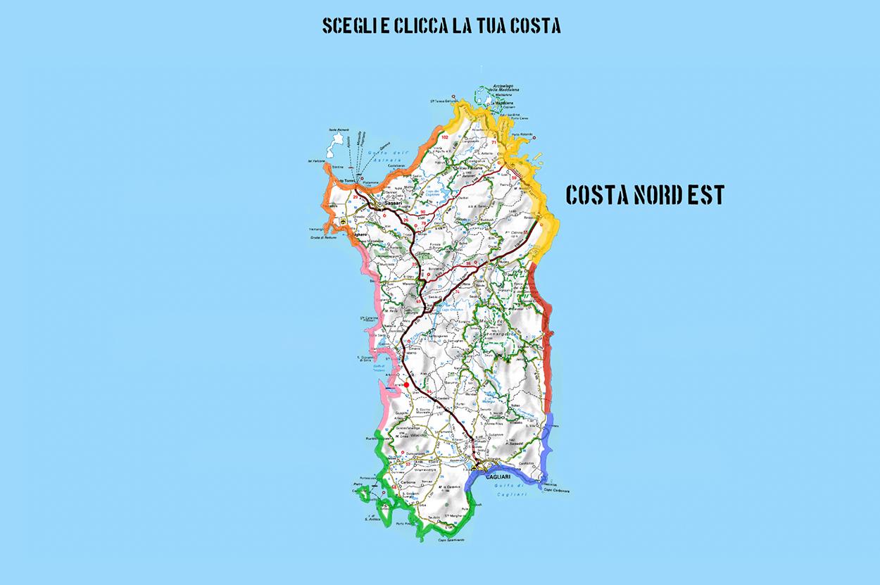 Cartina Sardegna Centro Ovest.Il Primo Portale Con I Migliori Residence In Sardegna